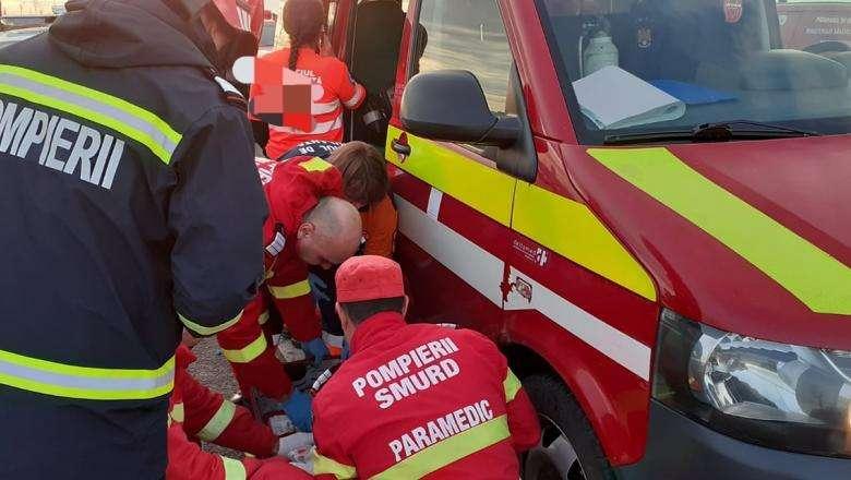 Tragedie în Prahova! Un tânăr a decedat după ce a intrat cu motocicleta într-un autoturism!