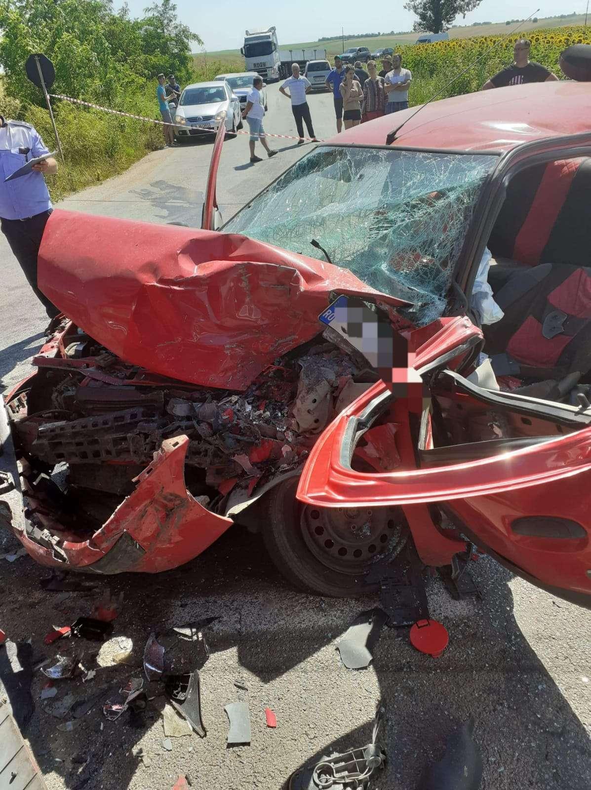 Accident grav pe Drumul Național 65A! O persoană a decedat!