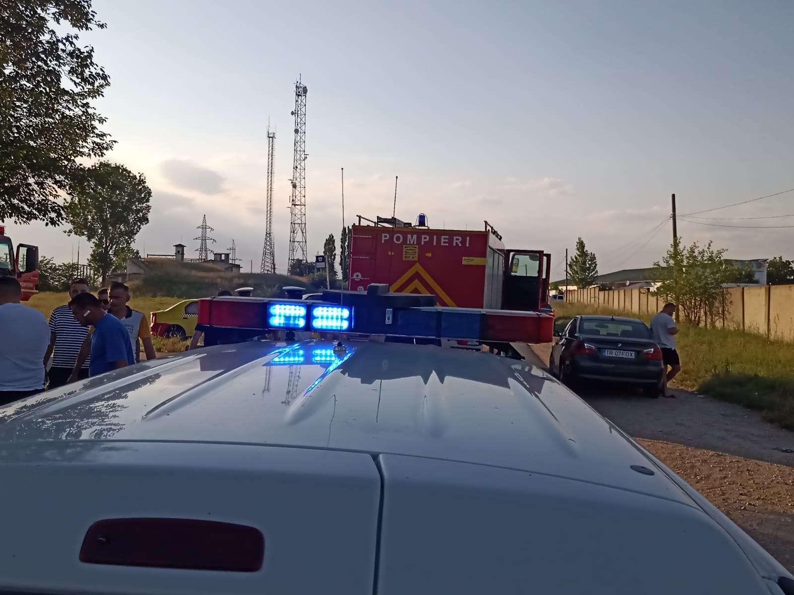 Teleorman: Două persoane au fost rănite în urma unui accident petrecut pe Drumul Județean 504