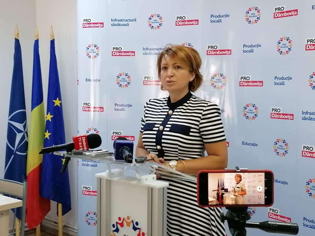 Deputat Oana Vlăducă: PRO ROMÂNIA a devenit în ultima perioadă un fel de câine rău pentru Guvernul PNL
