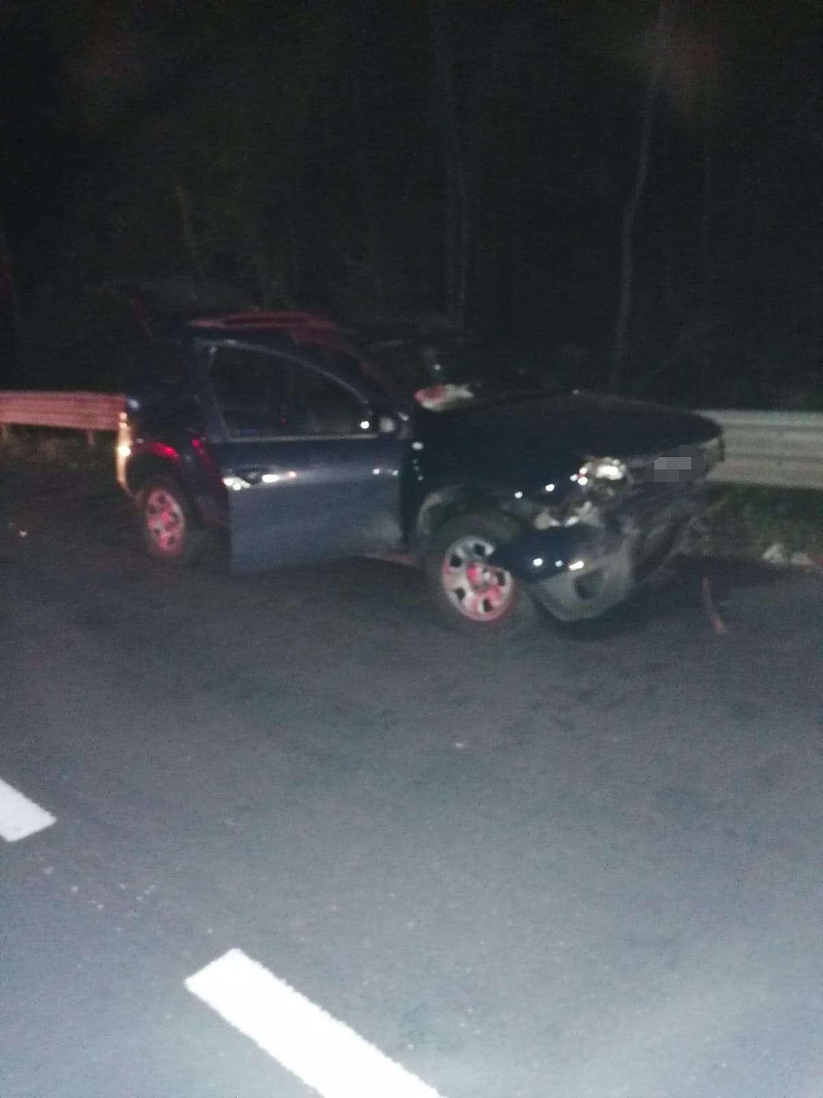 Accident în parcare! O persoană a ajuns la spital!