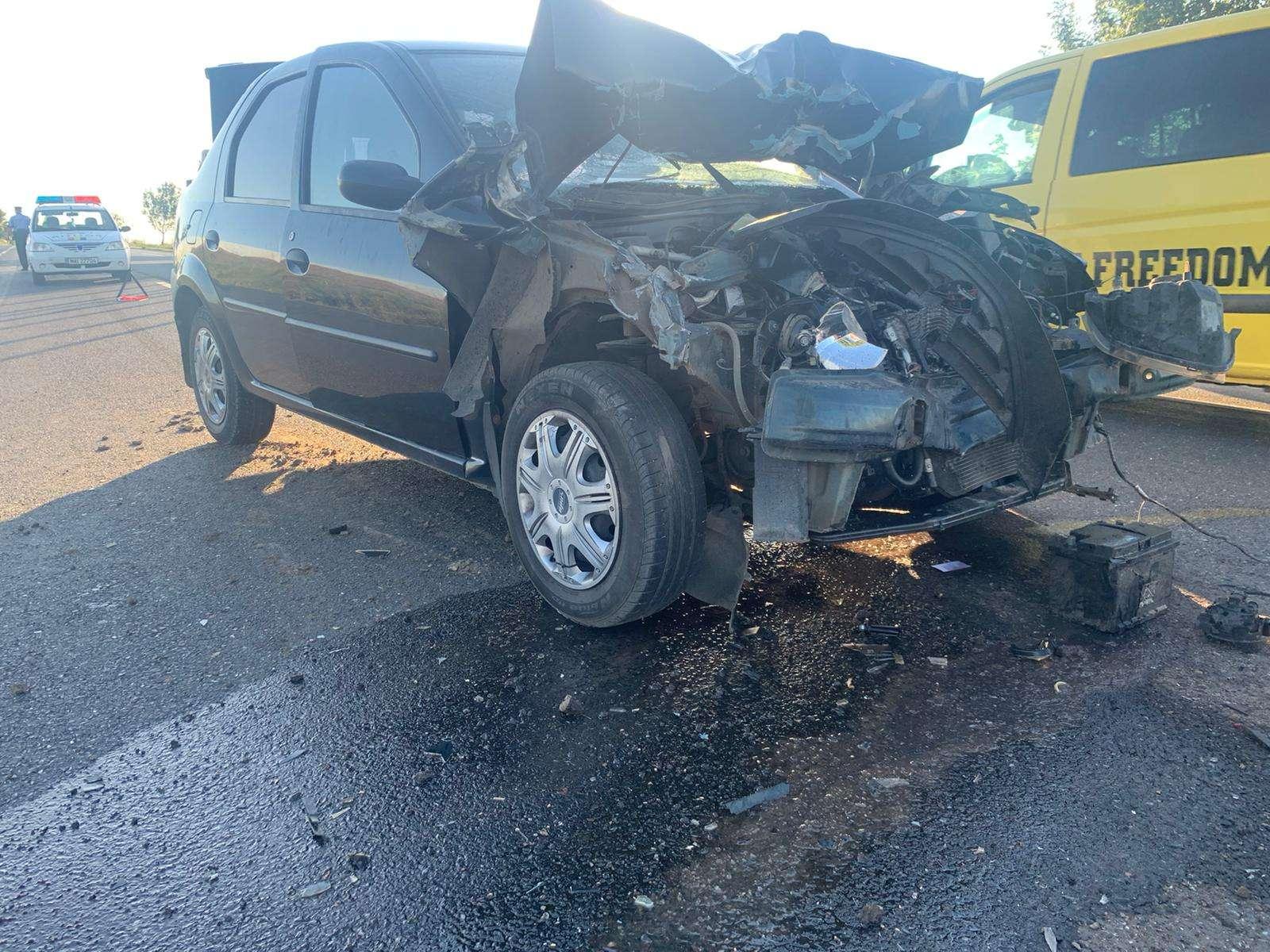 Accident violent pe Drumul Național 2E85! O persoană a fost rănită!