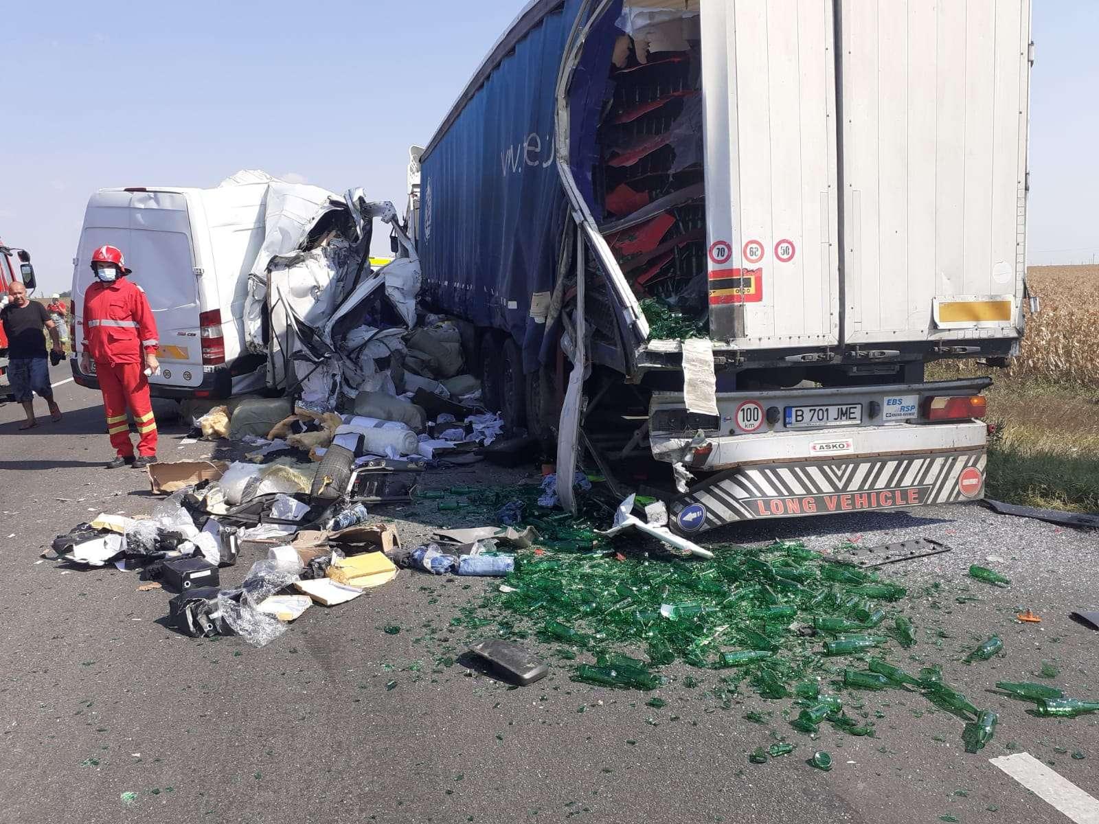 Tragedie pe Drumul Național 2! O persoană a decedat iar altele sunt rănite!