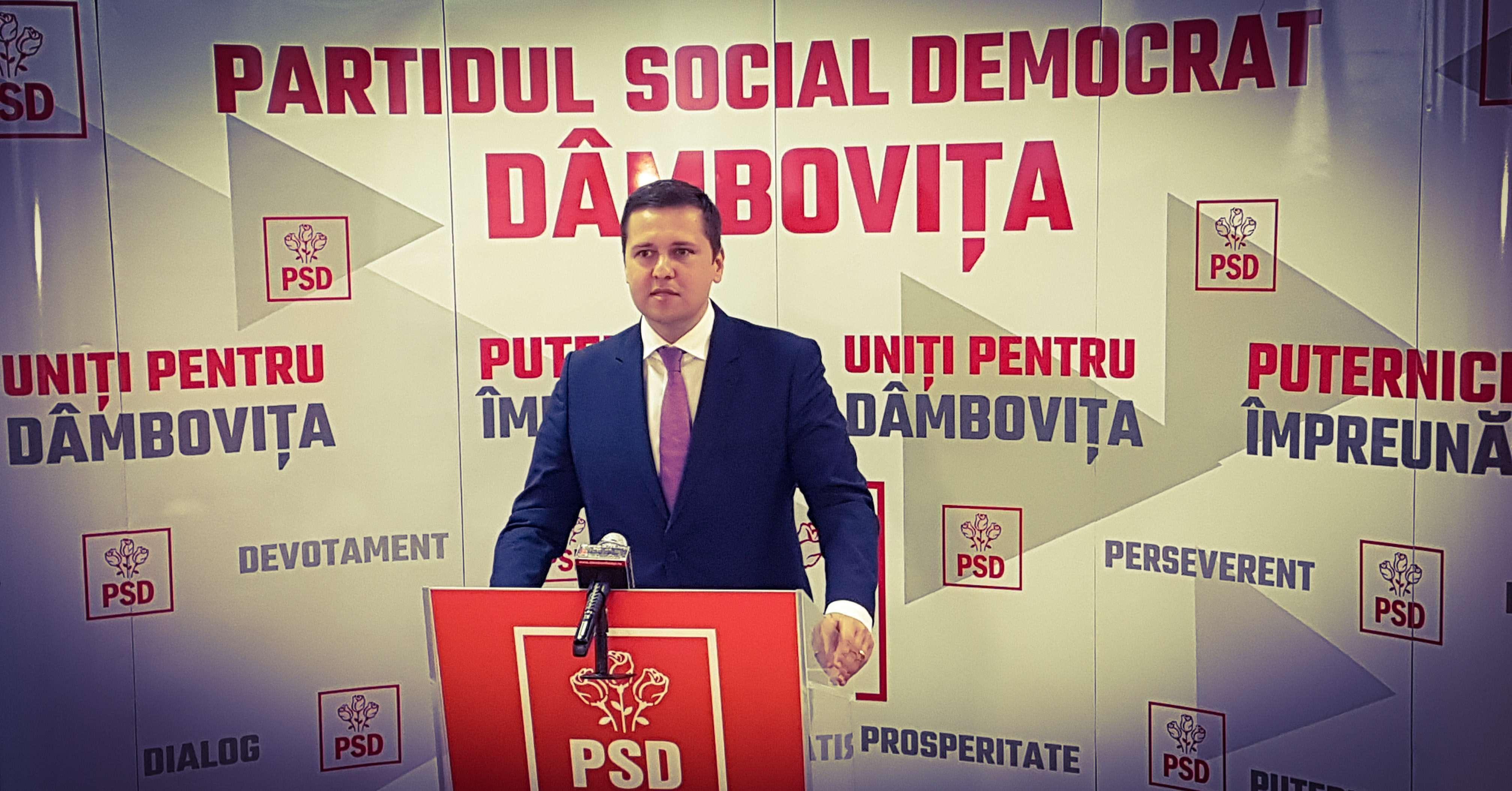 Președintele PSD Dâmbovița, Corneliu Ștefan, mesaj la începerea noului an școlar!