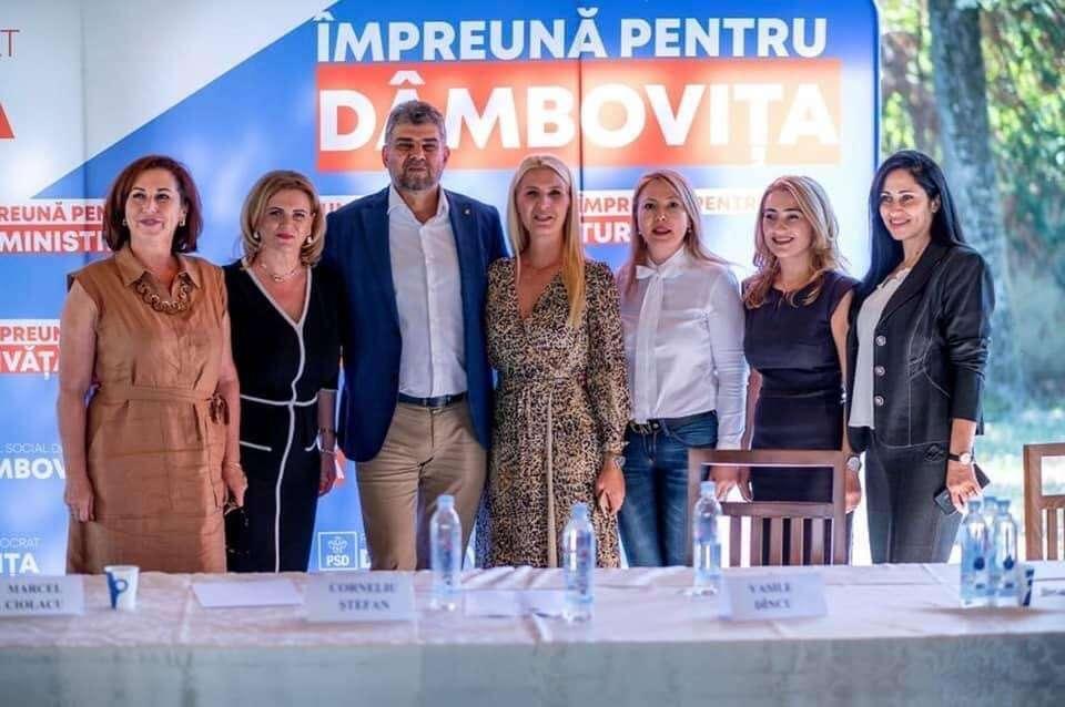 Deputat Carmen Holban: Obiectivul PSD Dâmbovița este câștigarea scrutinului din 27 septembrie