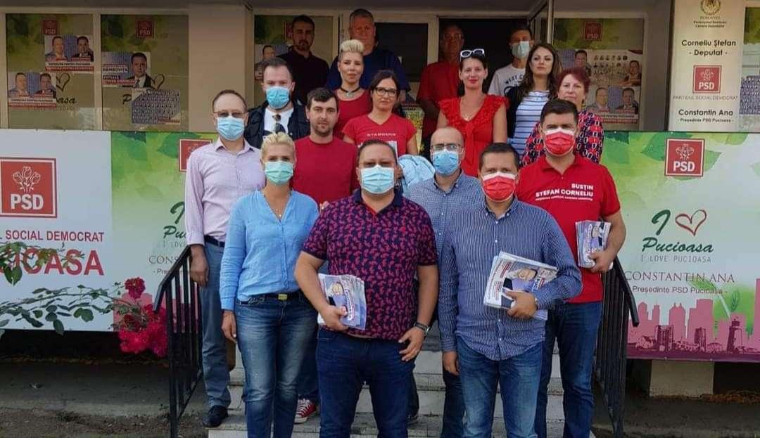 Președintele PSD Dâmbovița: Constantin Ana este primarul care și-a pus amprenta definitiv asupra orașului Pucioasa!