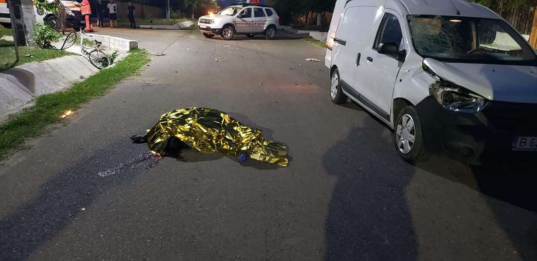 Accident grav în această dimineață la Ciocănești! O femeie a decedat!