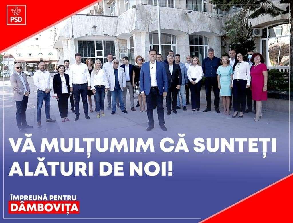 Președintele PSD Dâmbovița, Corneliu Ștefan: Avem în față 4 ani de muncă, dar împreună vom reuși în tot ceea ce ne-am propus!