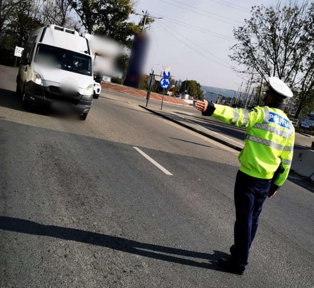 Prahova: Transportul în comun verificat de oamenii legii