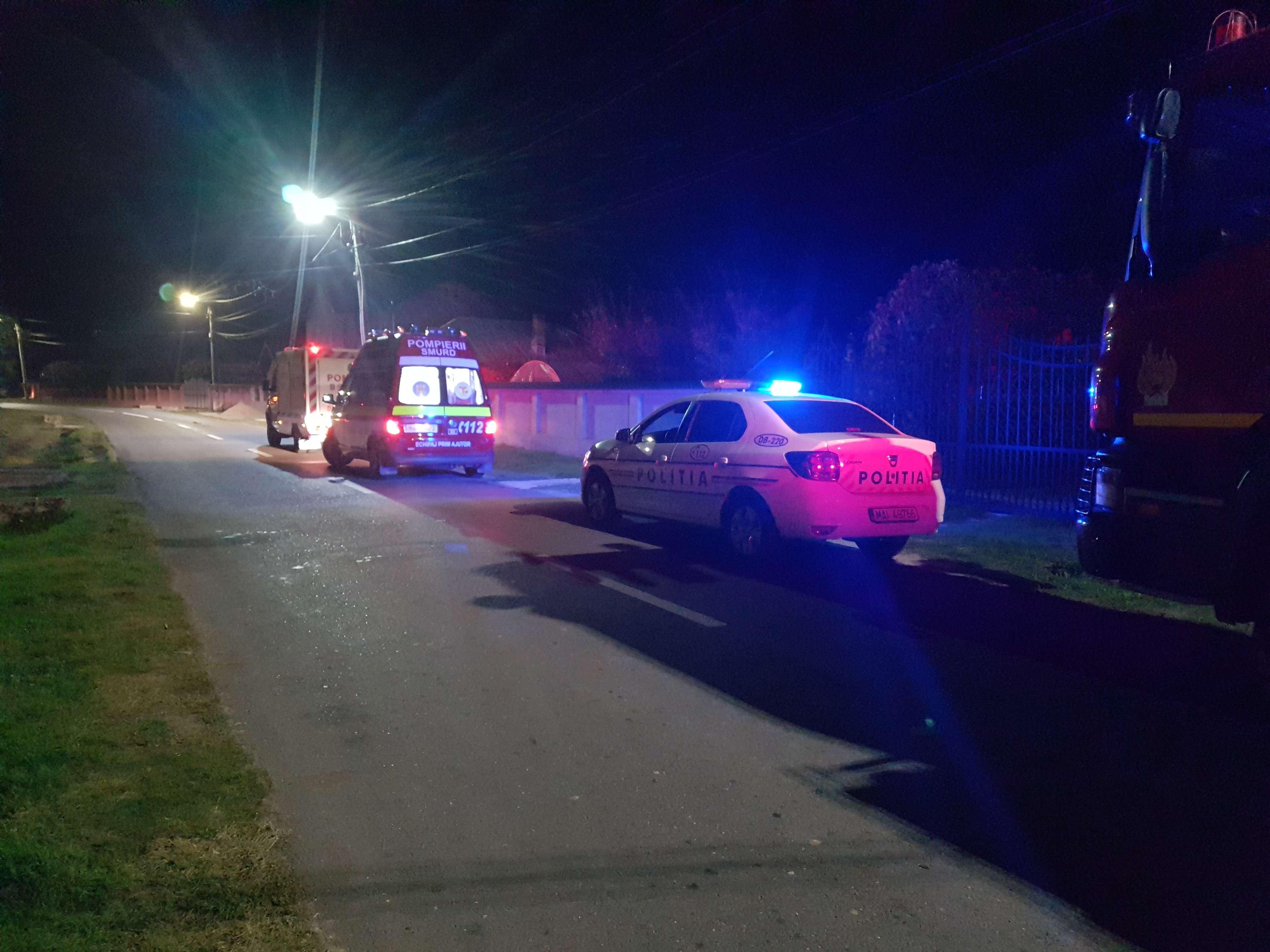 Un bărbat din Speriețeni a pus pe JAR în această seară poliția și pompierii
