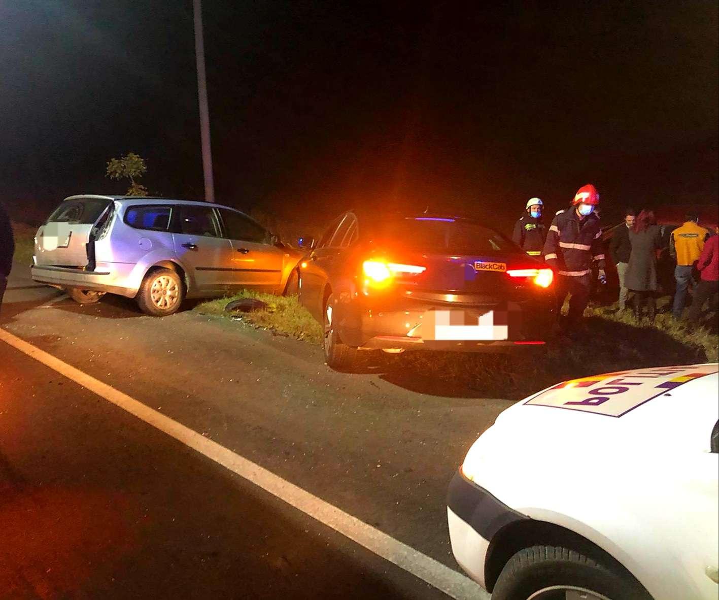 Accident violent pe Drumul Național 2! O persoană a fost rănită!