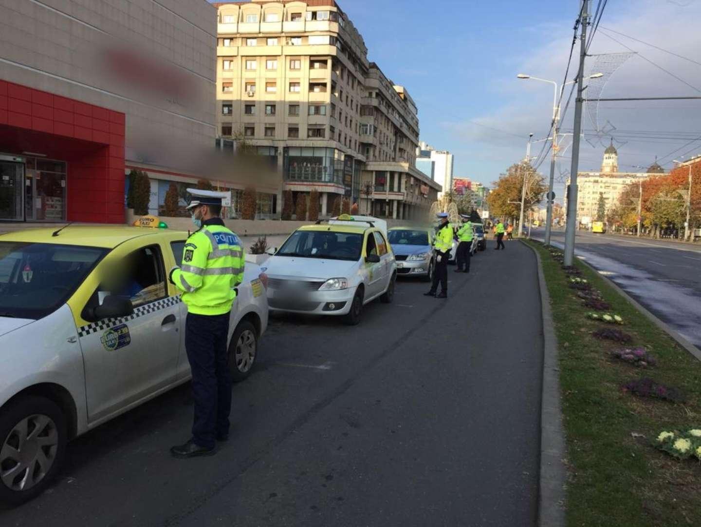 Acțiuni de amploare ale polițiștilor în ultimele 24 de ore! Peste 500 de autoturisme au fost verificate!