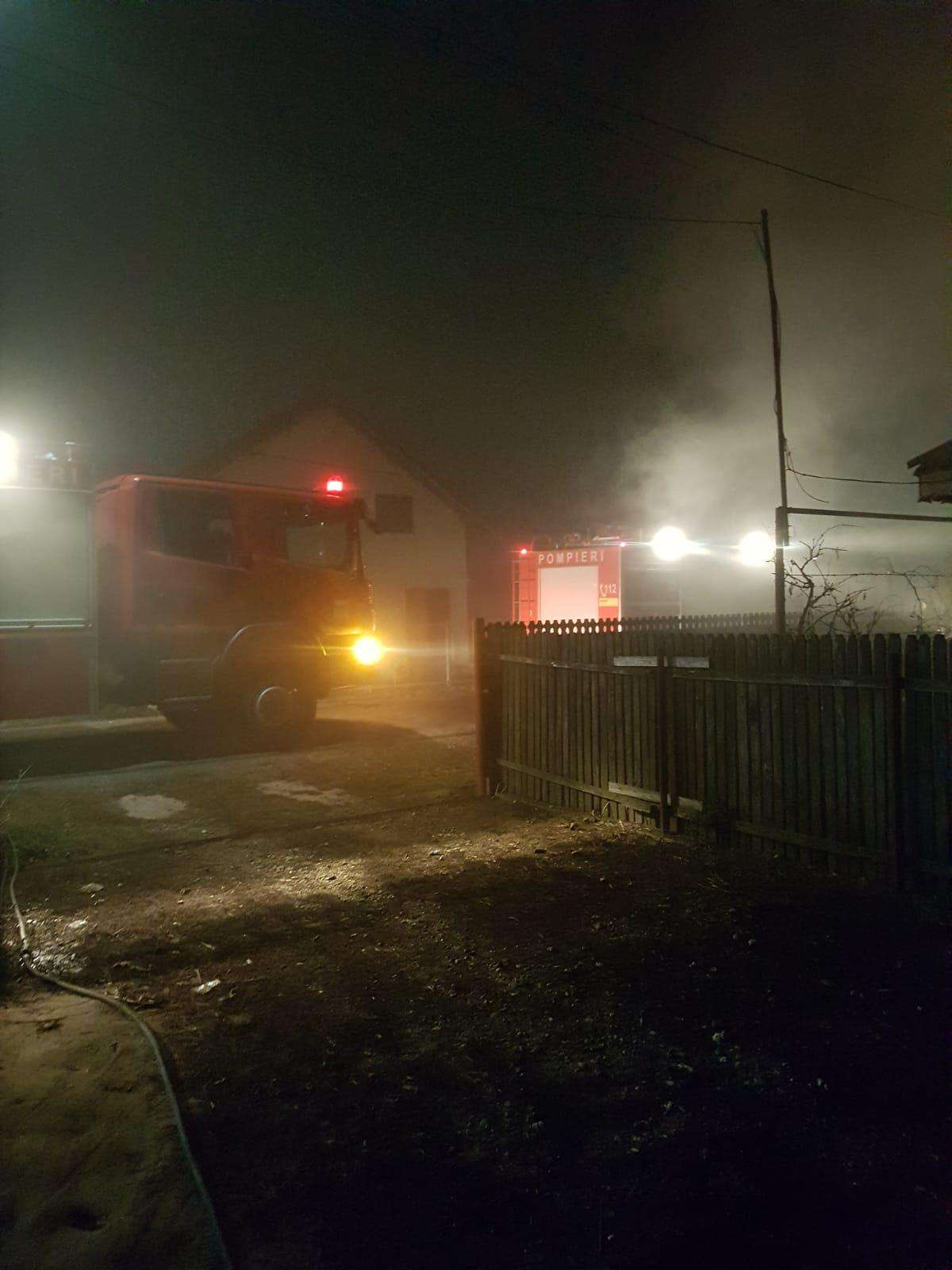 IALOMIȚA Incendiu la o anexă gospodărească în localitatea Ograda