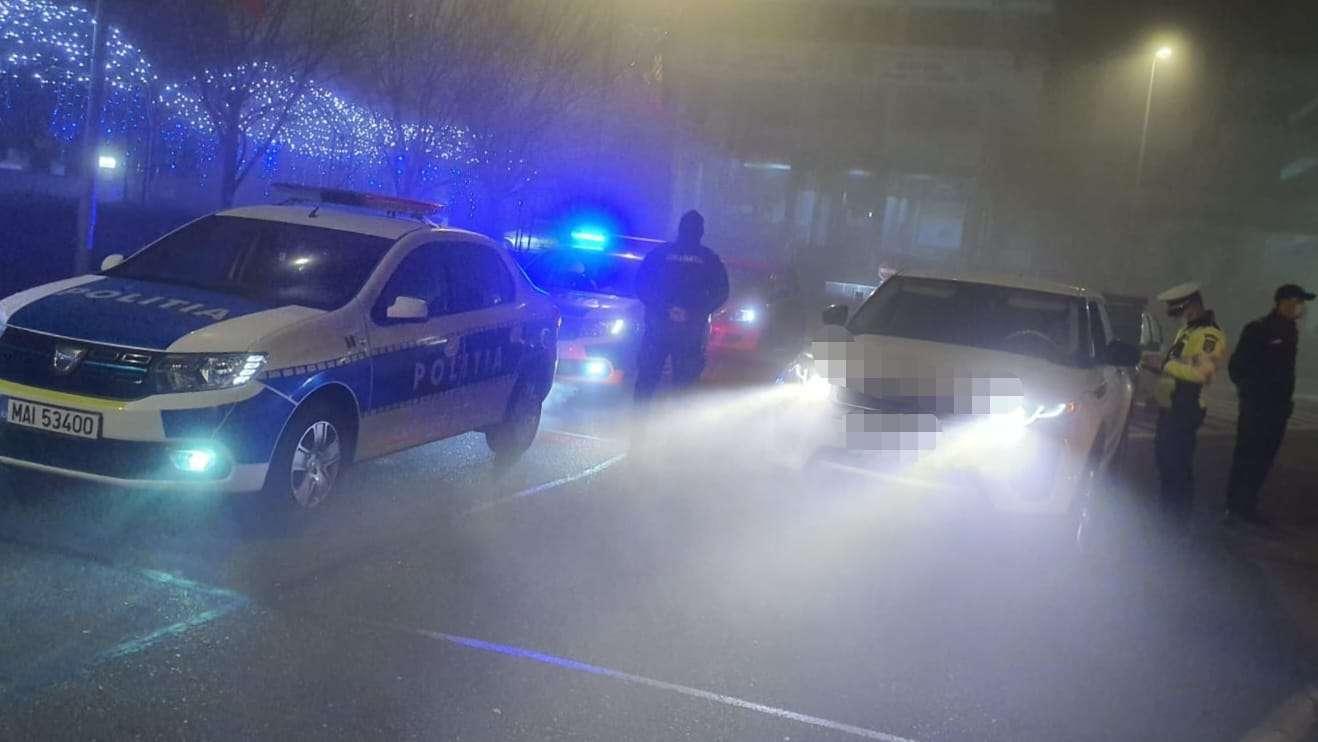 Acțiuni de amploare ale polițiștilor în ultimele 24 de ore! Aproape 3500 de persoane au fost verificate!