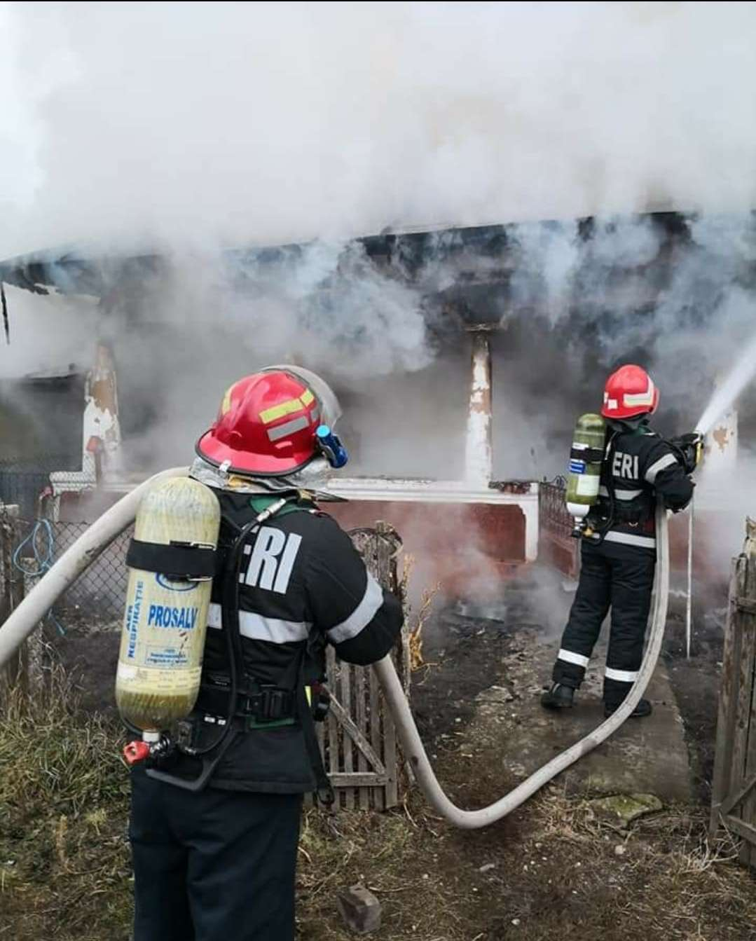 100 de misiuni în doar 72 de ore pentru pompierii teleormăneni