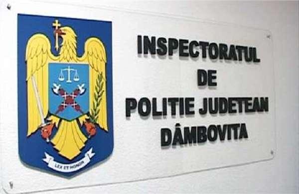 Dâmbovița: În ultimele 24 de ore, au fost organizate 40 de acțiuni punctuale și 113 patrule pentru menținerea unui climat de ordine și siguranță publică
