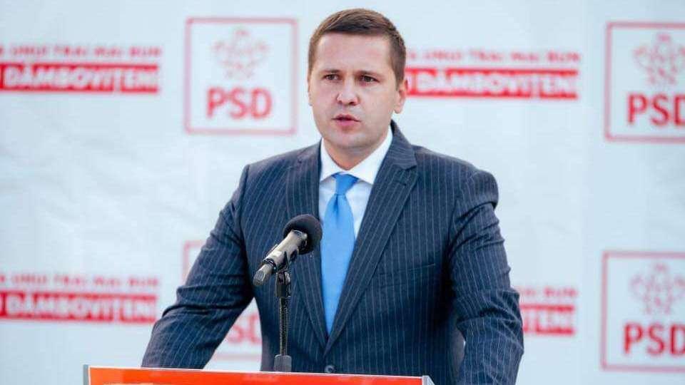 Președintele PSD Dâmbovița, Corneliu Ștefan, VIZITĂ FULGER la Ministerul Transporturilor! Motivul: Drumul Național 71
