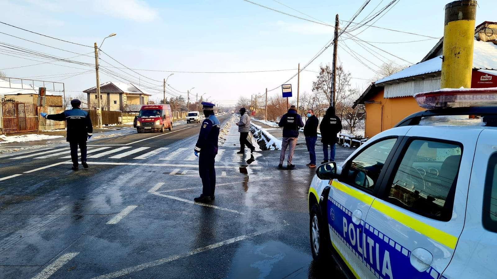 Acţiuni de verificare a respectării măsurilor impuse în contextul pandemiei de COVID 19, desfăşurate de poliţiştii ialomițeni