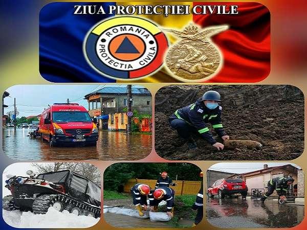 28 Februarie - Ziua Protecţiei Civile din România