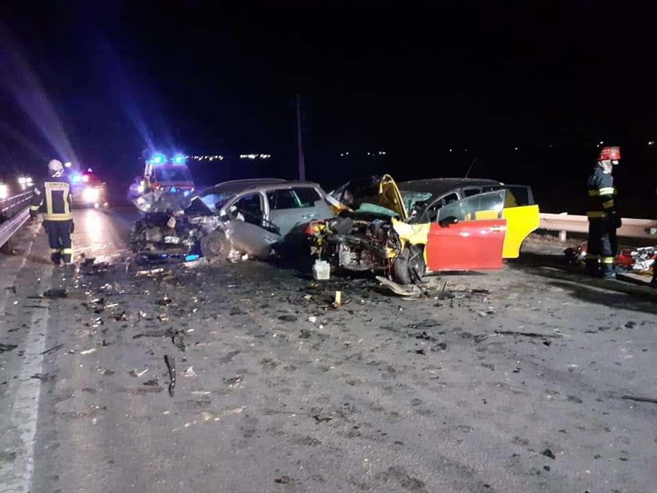 Accident grav pe Drumul Național 2, la ieșirea din municipiul Urziceni!