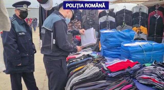 DÂMBOVIȚA Actiune a polițiștilor în târgul săptămânal din localitatea Lunguletu