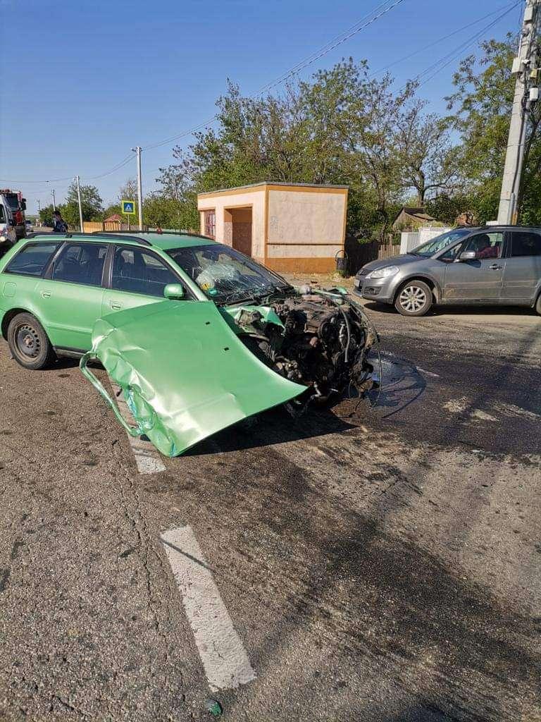 IALOMIȚA Accident rutier în comuna Scânteia, sat Iazu