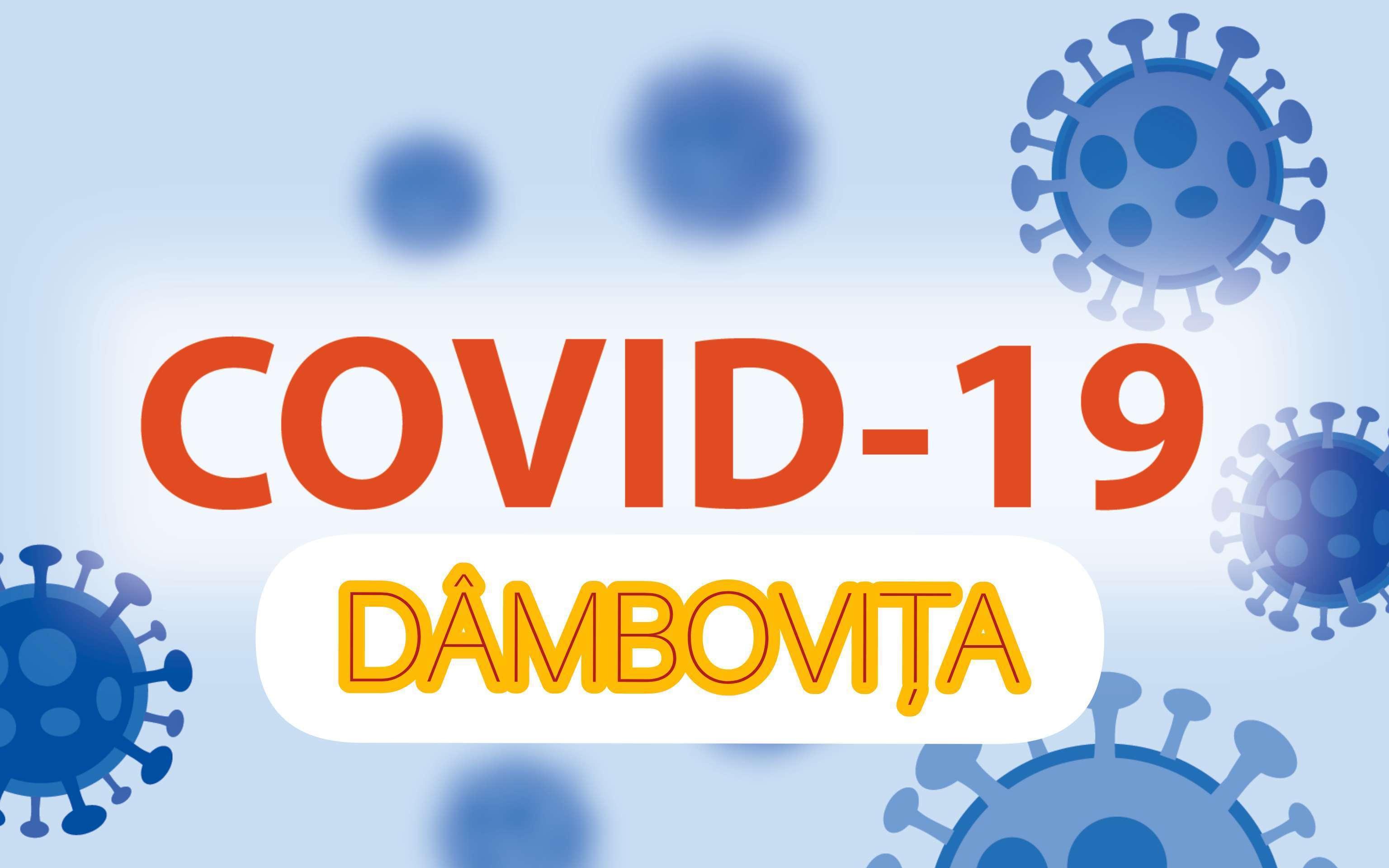 Situația COVID-19 la nivelul județului Dâmbovița la data de 14 mai 2021