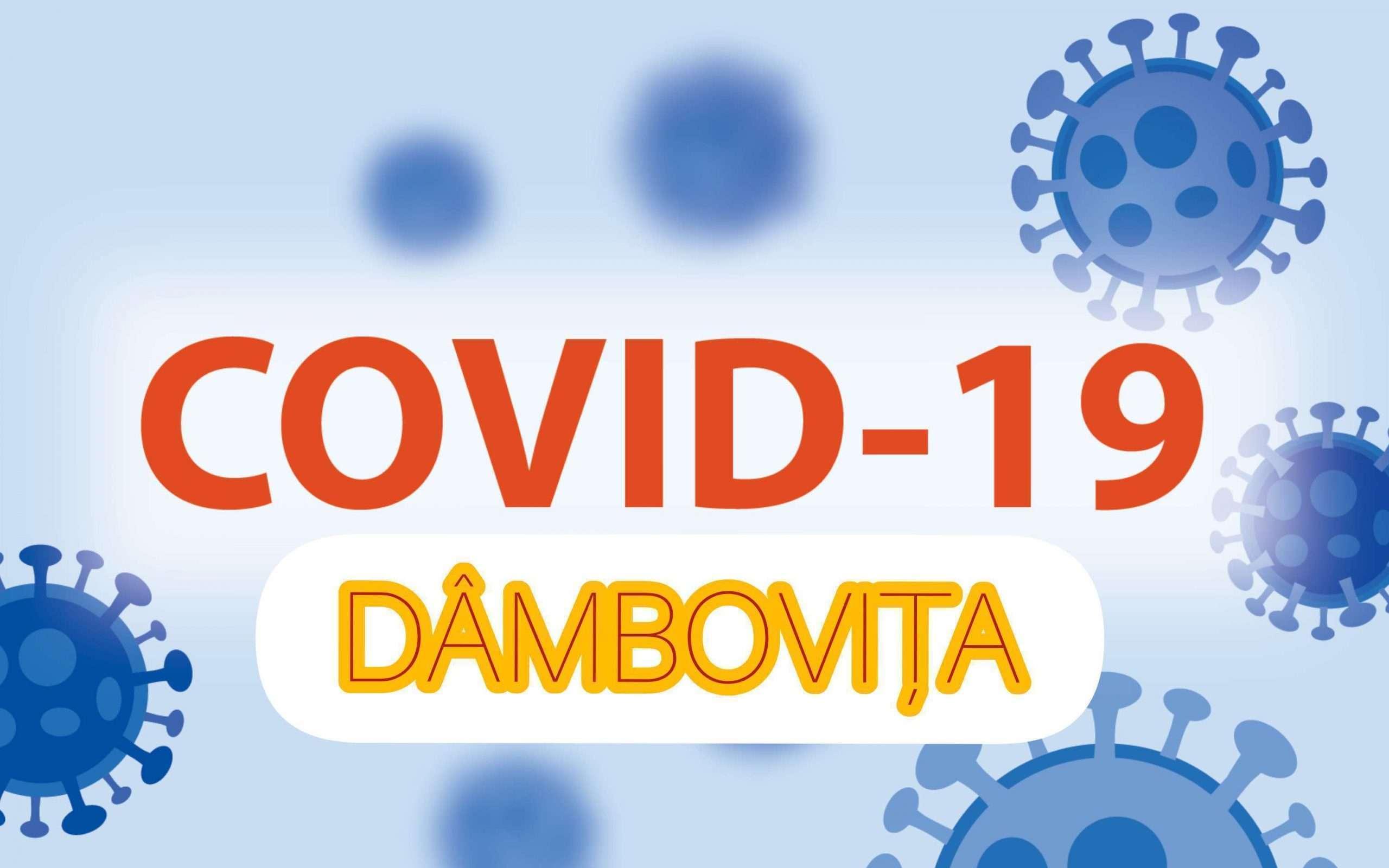 Situația COVID-19 la nivelul județului Dâmbovița la data de 18 iunie 2021