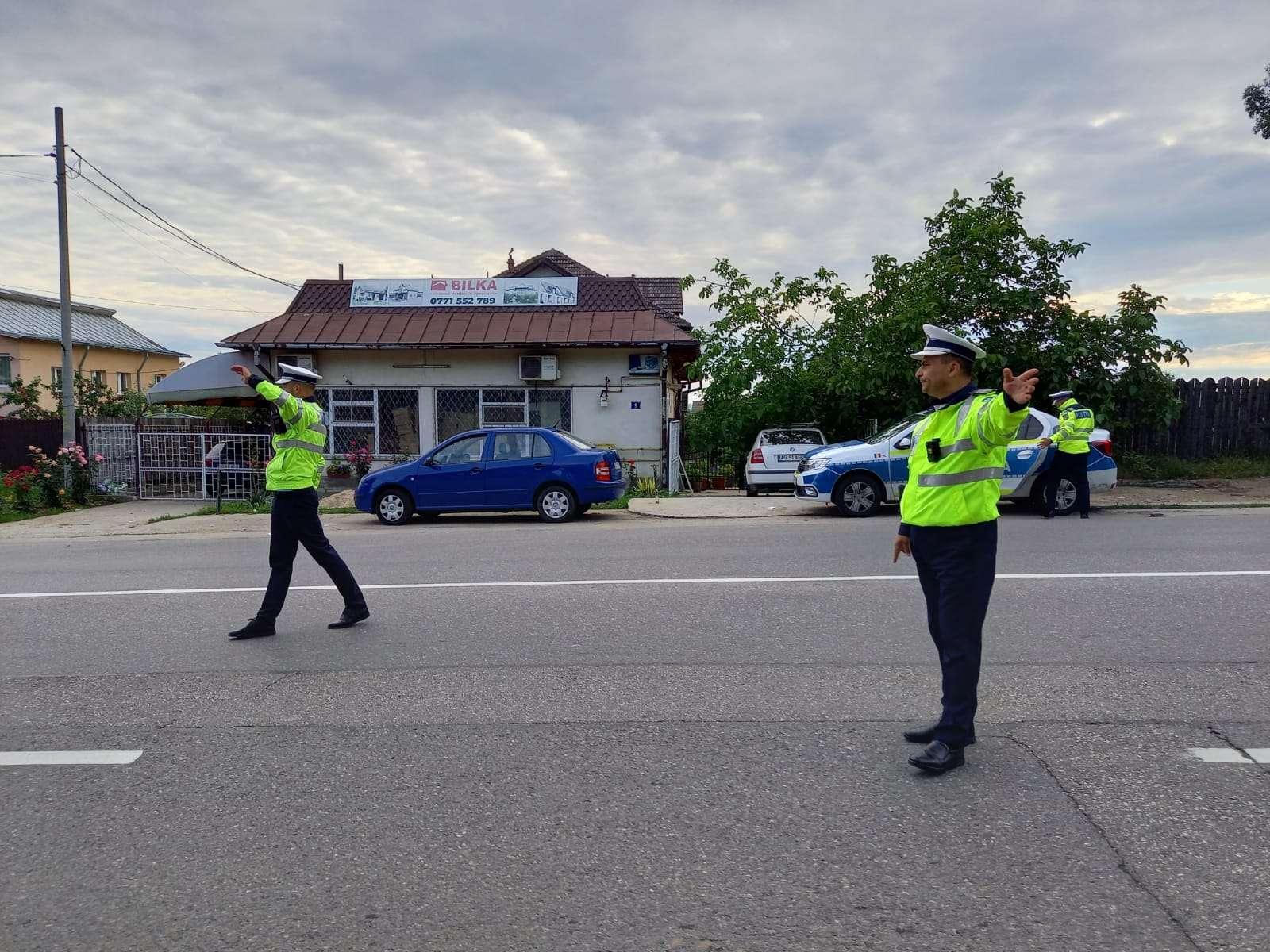 ARGEȘ În doar 3 ore polițiștii au facut PRĂPĂD pe șoselele din județ