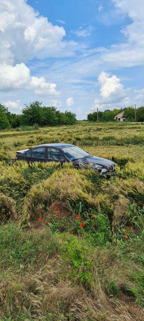 Accident violent în Ialomița! Două persoane au fost rănite!