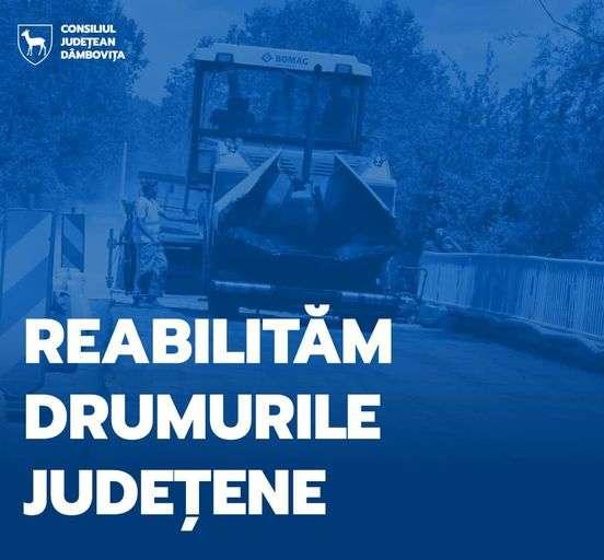 """Proiectele a 6 drumuri județene, depuse de CJD pentru finanțare prin Programul Național de Investiții """"Anghel Saligny�"""